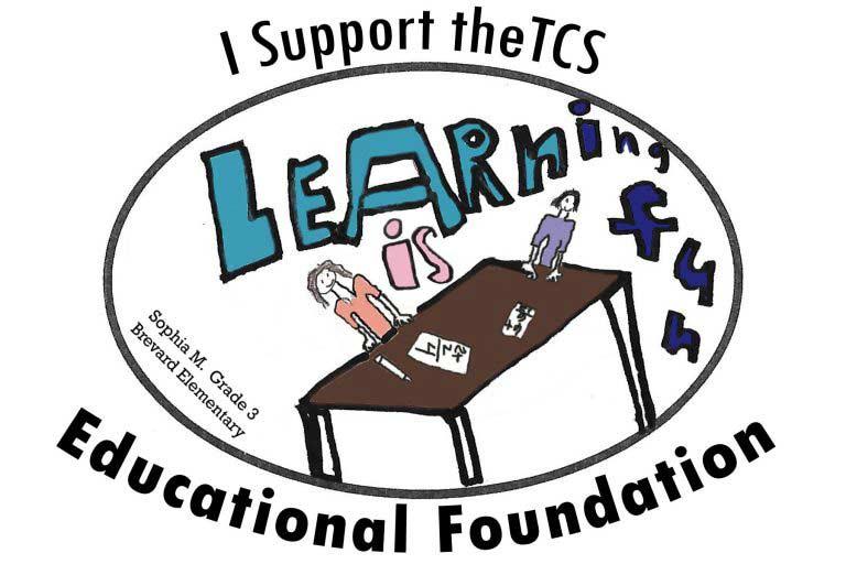 education foundation sticker artwork